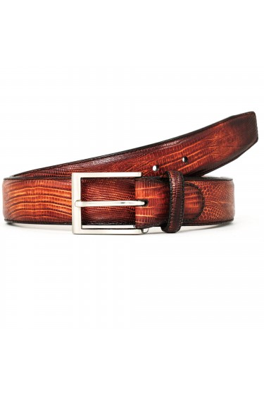 Magnanni Belt Lizard Leather Cognac (30936)