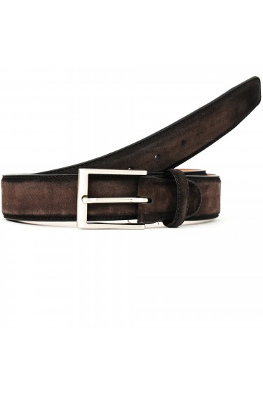 Magnanni Belt Suede Brown (30944)